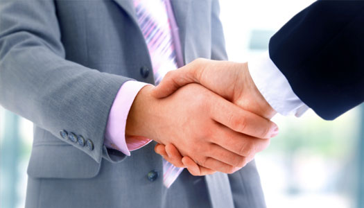A Business Hand-Shake? Trust it? - Please see the UPDATE at bottom Sept 2015...